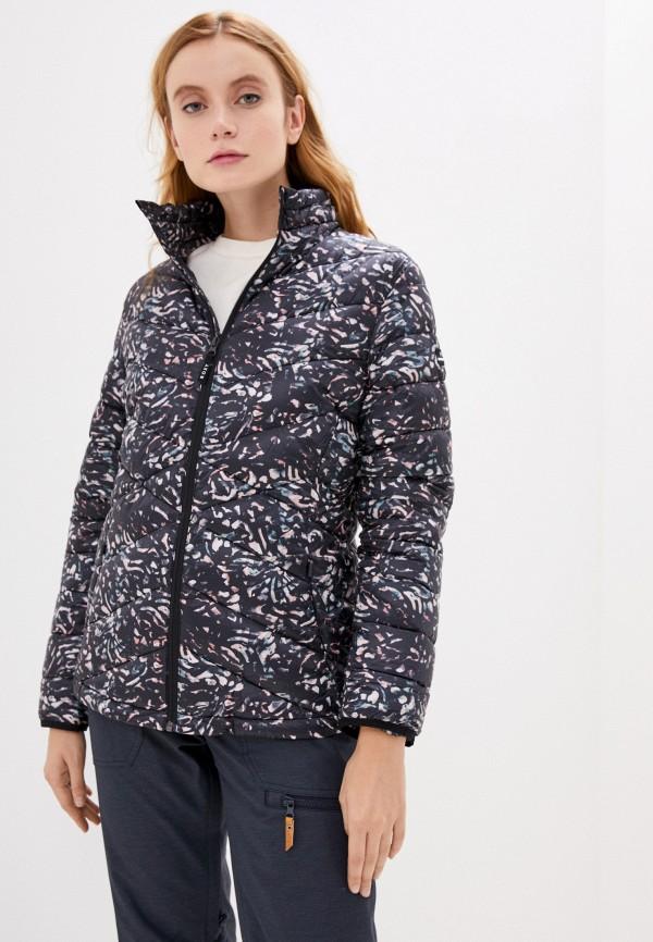 женская куртка roxy, серая