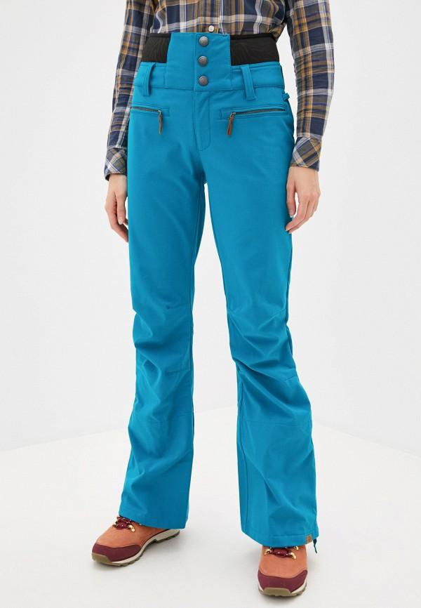 женские брюки roxy, бирюзовые