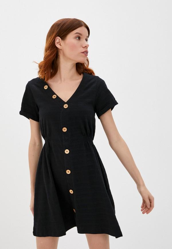 женское спортивные платье roxy, черное