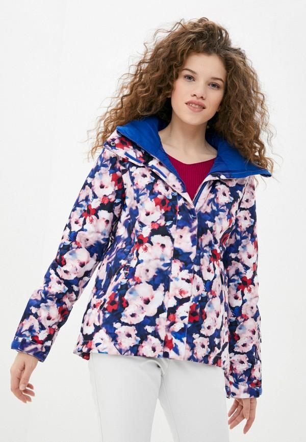 женская куртка roxy, разноцветная