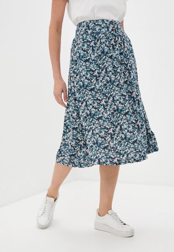 женская спортивные юбка roxy, синяя