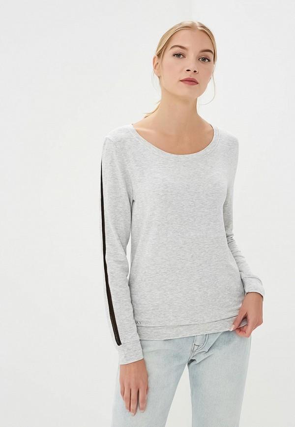 Купить Свитшот Roxy, ro165ewpfp52, серый, Осень-зима 2018/2019