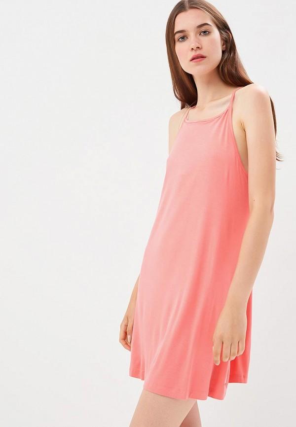Фото - женское платье Roxy розового цвета