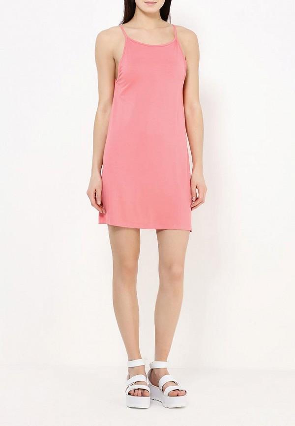 Фото 4 - женское платье Roxy розового цвета