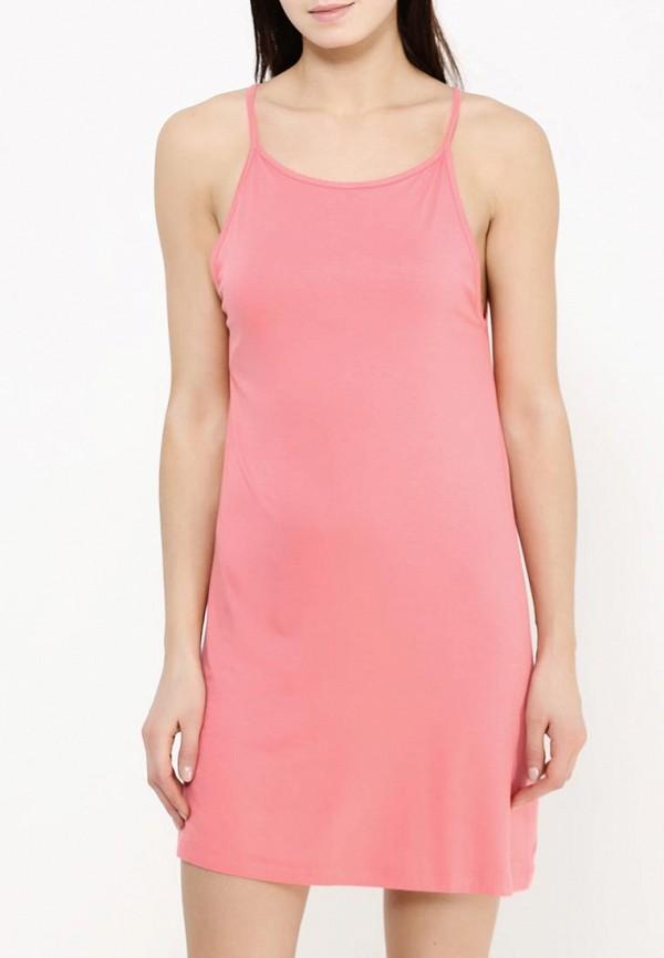 Фото 5 - женское платье Roxy розового цвета