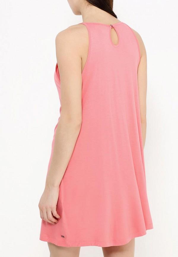Фото 6 - женское платье Roxy розового цвета