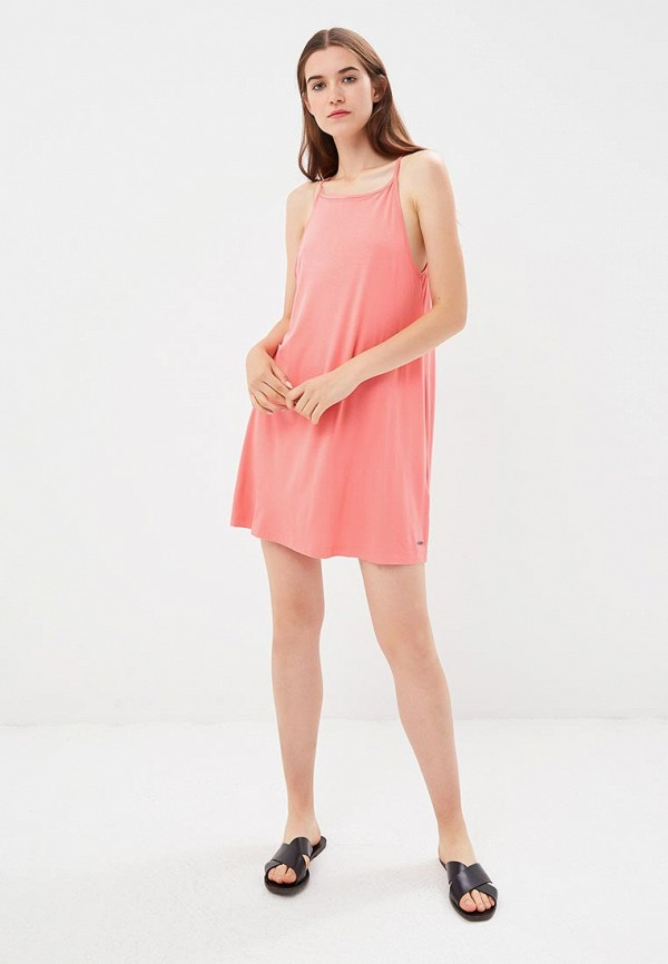 Фото 2 - женское платье Roxy розового цвета