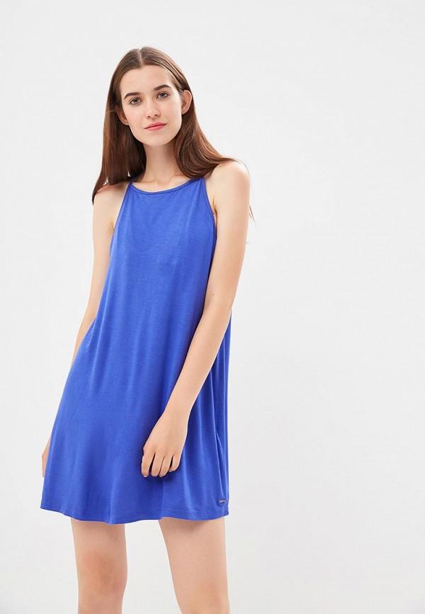 Купить Платье Roxy, ro165ewpfp98, синий, Осень-зима 2018/2019