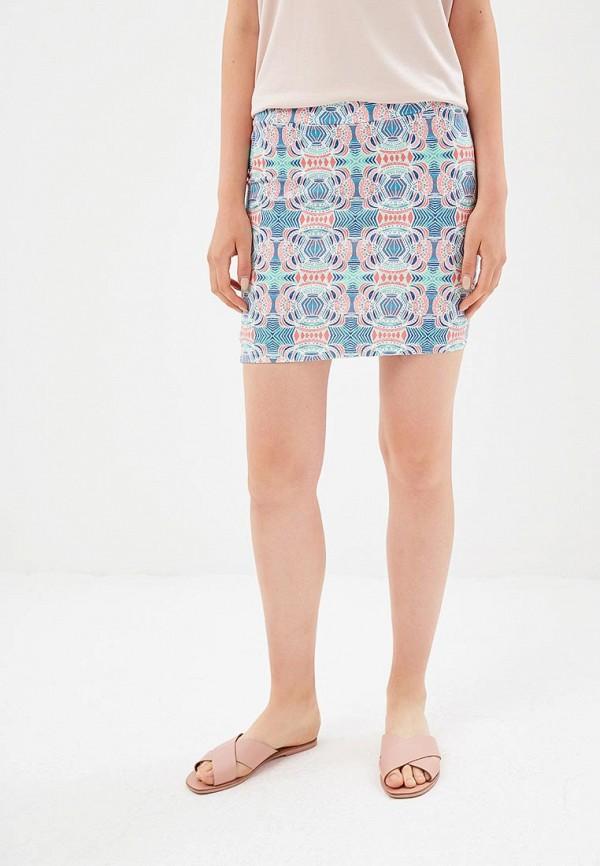 женская юбка roxy, разноцветная