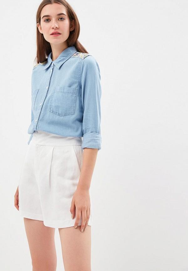 Купить Рубашка джинсовая Roxy, ro165ewpfs76, голубой, Осень-зима 2018/2019