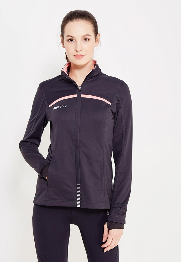 Куртка спортивная Roxy Roxy RO165EWVOG12 спортивная куртка klingel цвет черный синий