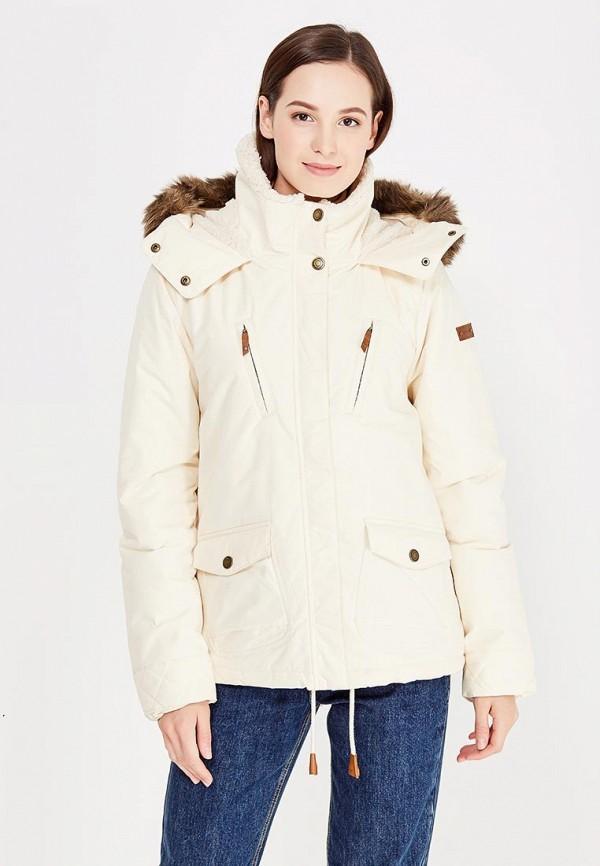 Куртка утепленная Roxy Roxy RO165EWVOG18 куртка женская roxy цвет зеленый красный бежевый erjtj03184 kvj3 размер s 42