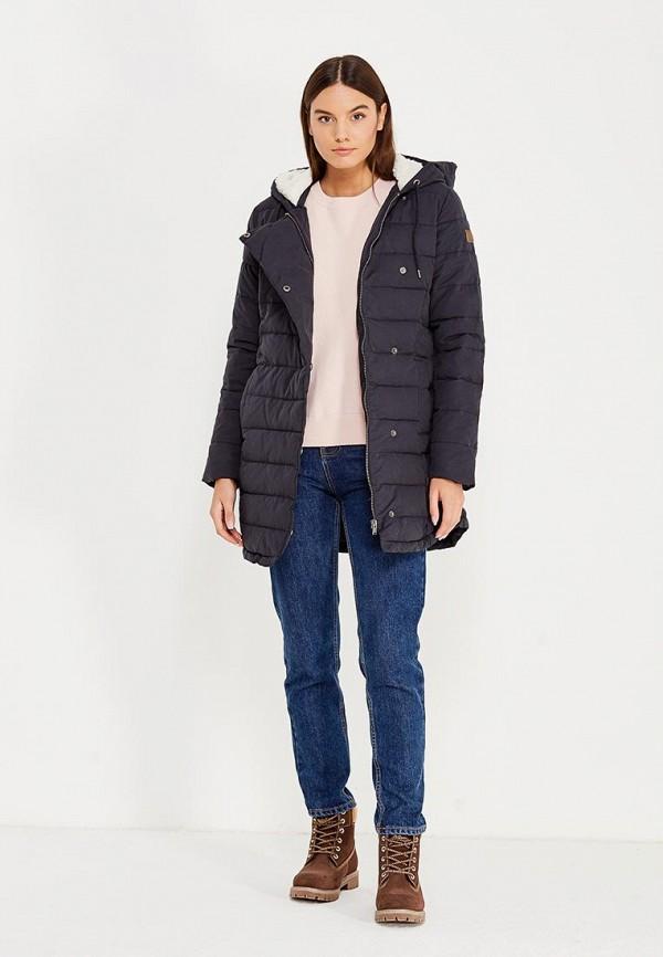 Фото 2 - Куртку утепленная Roxy черного цвета