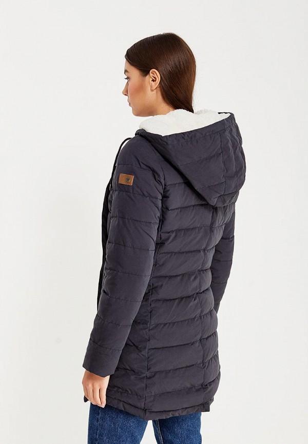Фото 3 - Куртку утепленная Roxy черного цвета