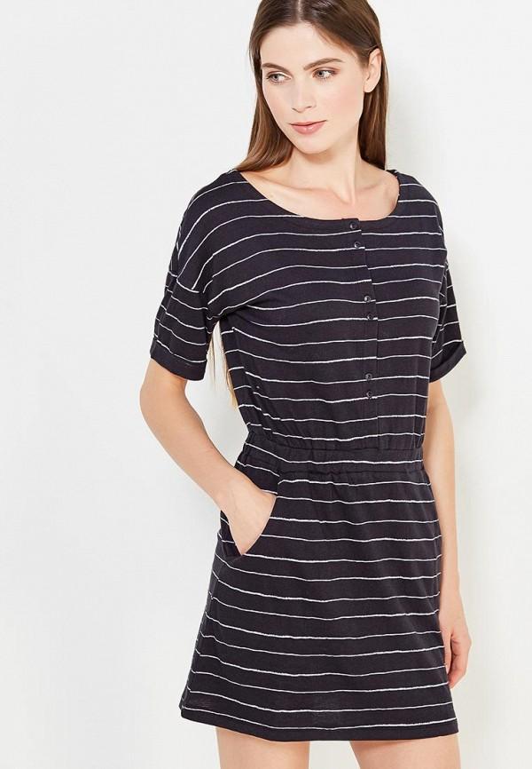 Купить Платье Roxy, ro165ewvoh42, синий, Осень-зима 2018/2019