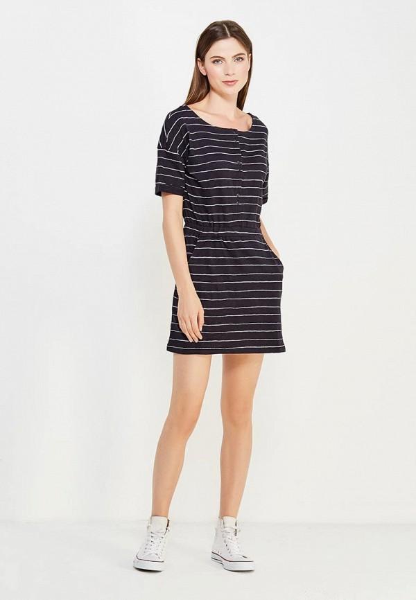 Фото 2 - женское платье Roxy синего цвета