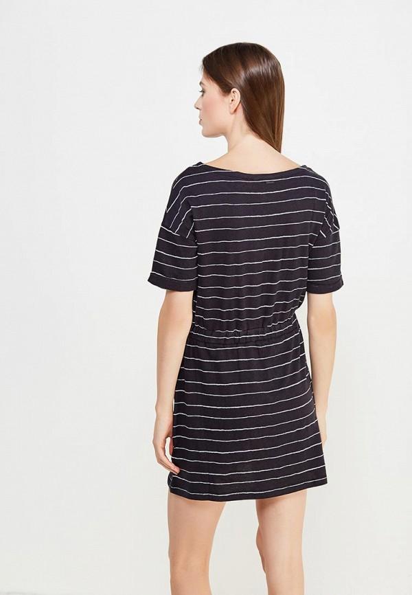Фото 3 - женское платье Roxy синего цвета