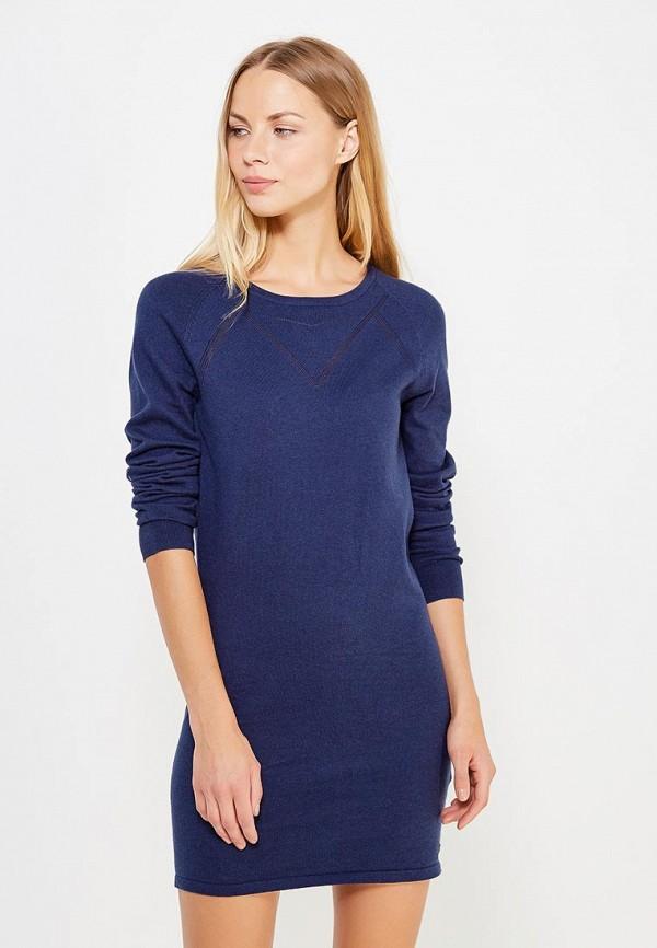 Купить Платье Roxy, ro165ewvoh43, синий, Осень-зима 2018/2019