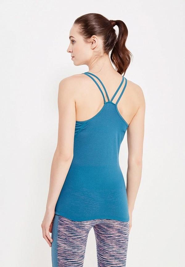 Фото 3 - Майку спортивная Roxy голубого цвета