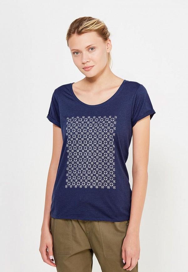 Футболка Roxy Roxy RO165EWVOH88 футболка женская roxy clouds цвет синий erjkt03259 pqf0 размер 48 xl