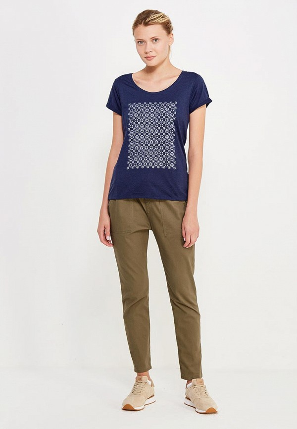Фото 2 - женскую футболку Roxy синего цвета