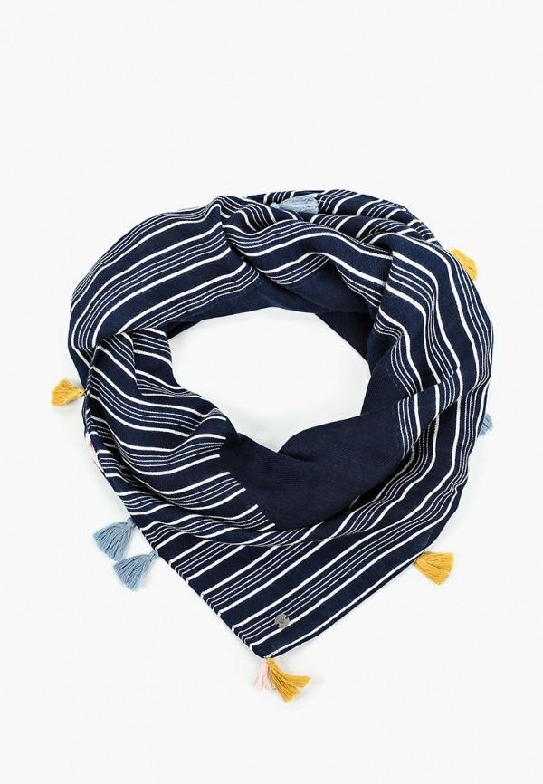 женский платок roxy, синий