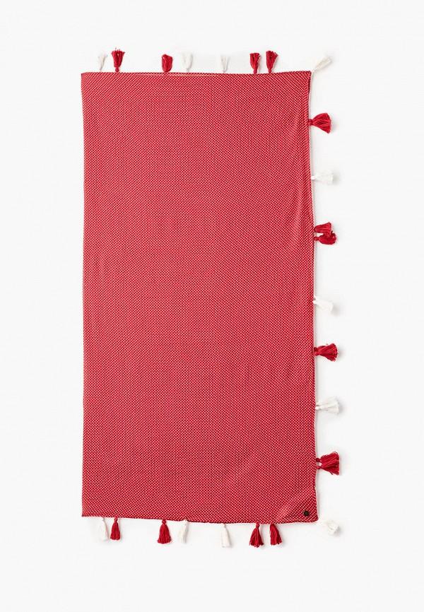 женский платок roxy, красный