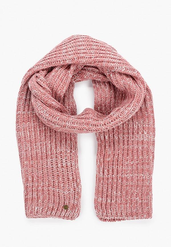 женский шарф roxy, розовый