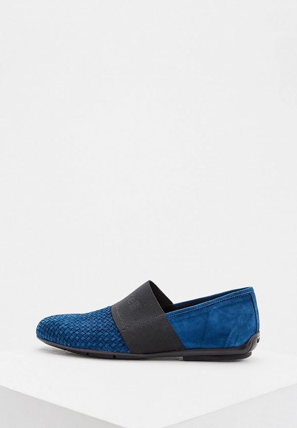 мужские туфли roberto botticelli, синие