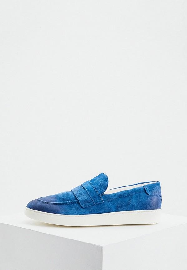 мужские слипоны roberto botticelli, синие