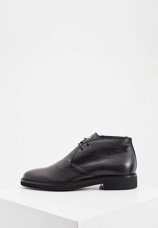 мужские ботинки roberto botticelli, черные