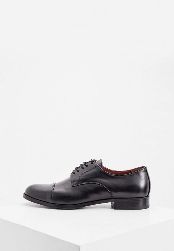мужские туфли roberto botticelli, черные
