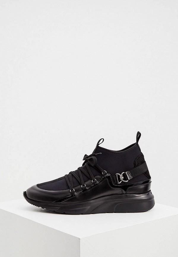 мужские кроссовки roberto botticelli, черные