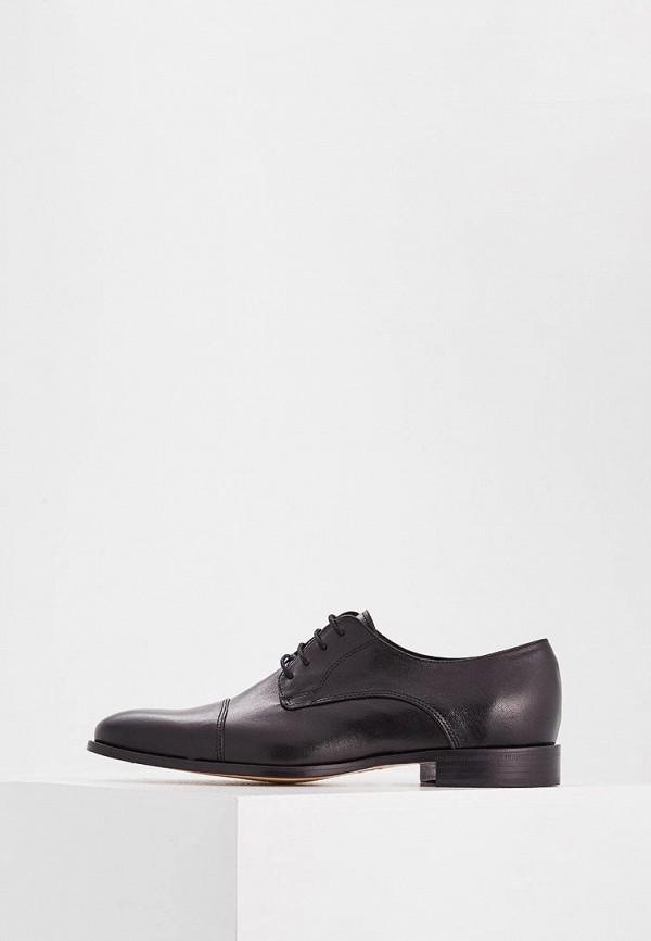 Фото - мужские туфли Roberto Botticelli черного цвета