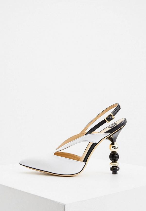 женские туфли roberto botticelli, белые