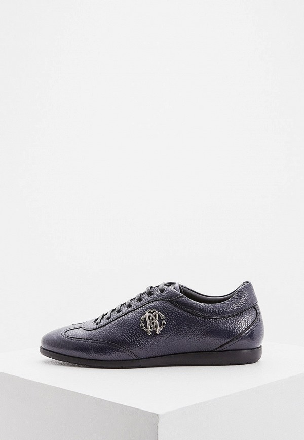 мужские ботинки roberto cavalli, синие