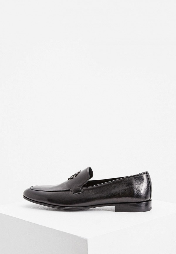мужские туфли roberto cavalli, черные