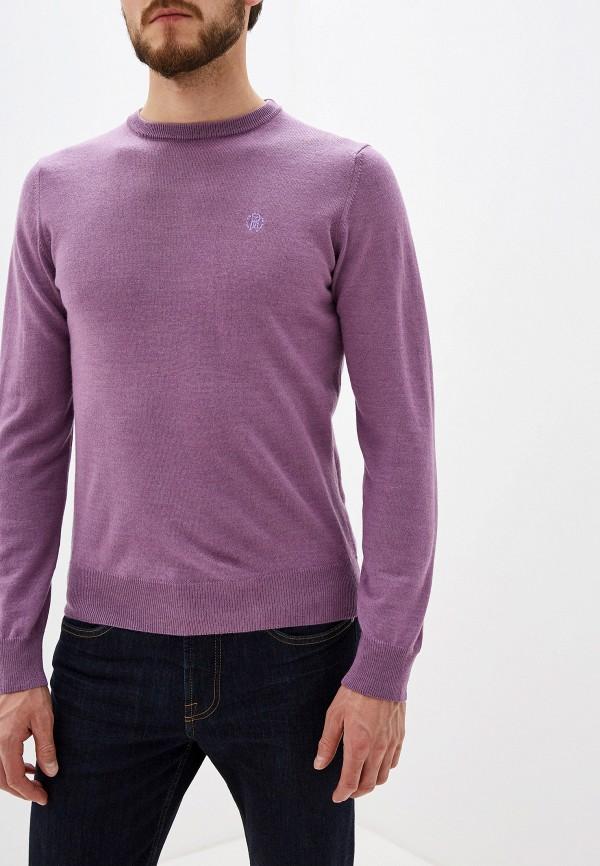 мужской джемпер roberto cavalli, фиолетовый