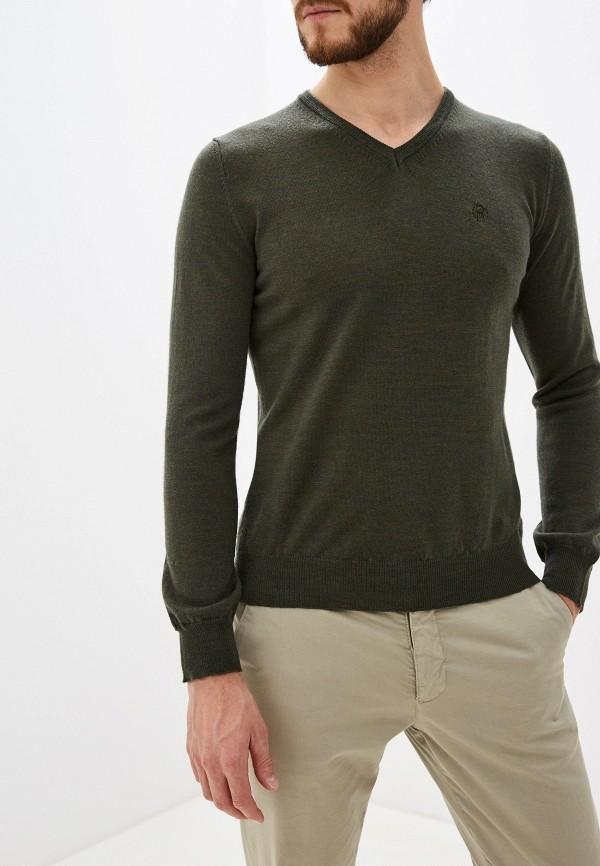 мужской пуловер roberto cavalli, зеленый