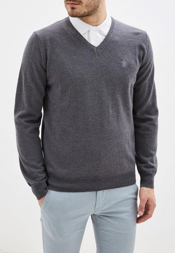 мужской пуловер roberto cavalli, серый