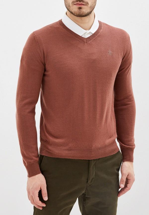 мужской пуловер roberto cavalli, коричневый
