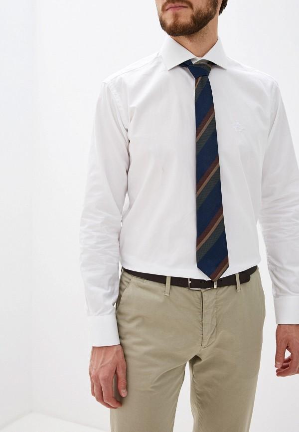 мужская рубашка с длинным рукавом roberto cavalli, белая