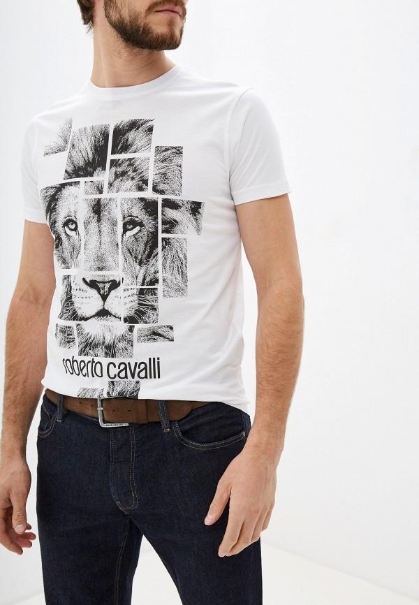 Футболка Roberto Cavalli Roberto Cavalli RO352EMGRZG4 футболка roberto cavalli футболка