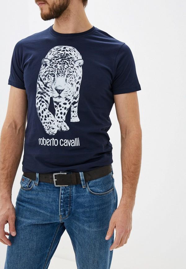 Футболка Roberto Cavalli Roberto Cavalli RO352EMGRZG9 футболка roberto cavalli футболка
