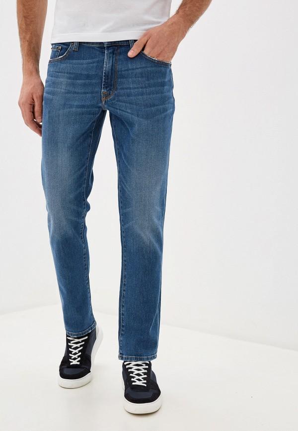 мужские зауженные джинсы roberto cavalli, синие
