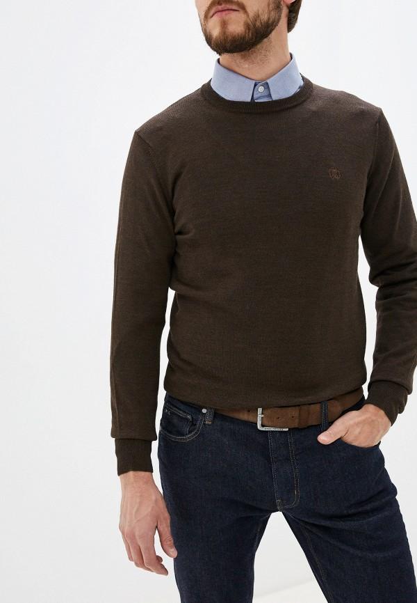мужской джемпер roberto cavalli, коричневый