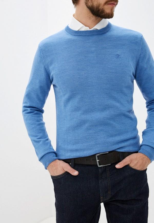мужской джемпер roberto cavalli, синий