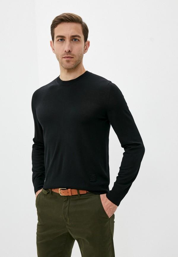 мужской джемпер roberto cavalli, черный