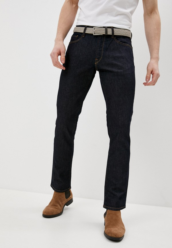 мужские прямые джинсы roberto cavalli, синие