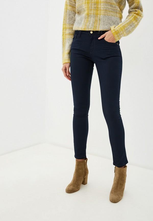 женские повседневные брюки roberto cavalli, синие